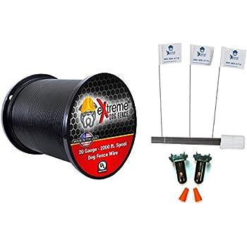 Amazon Com 20 Gauge Wire 2000 Kit Pet Containment Wire