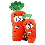 Home Office Carrot Back Cushion Plush Toys Hold Pillow Sofa Pillows Stuffed Dolls