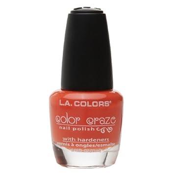 Amazon.com : L.A. Colors Color Craze Nail Polish, Spat! 0.44 fl oz ...
