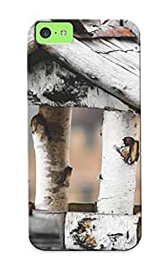 Cute High Quality Iphone 5c Bird And Bird House Case Provided By Standinmyside