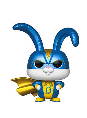 Funko Pop! Movies: Secret Life of Pets 2 - Snowball in Superhero Suit, Multicolor ()
