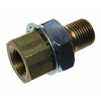 (2) 2-3/8' Bulkhead Brass Fittings Crawford Machine NEW GPD