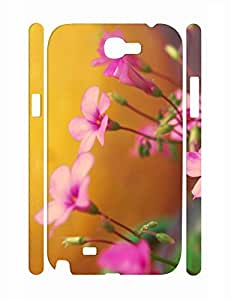 Cool Sweet Flower Pattern Eco TPU Phone Protective Case for Samsung Galaxy Note 2 N7100 by supermalls