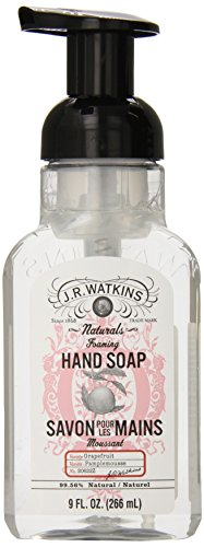 J.R. Watkins Foaming Hand Soap, Grapefruit, 9 ounce (Pack of ()