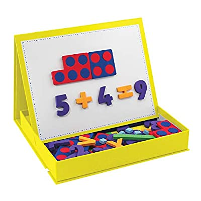 Junior Learning Rainbow Numbers and Built-in Magnetic Board: Toys & Games