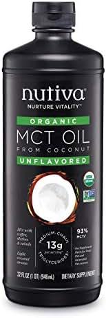 Nutiva Organic MCT Oil, 32-ounce