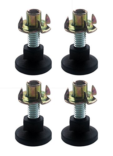 Heavy Duty Adjustable Leg Leveling Glides for Furniture ()