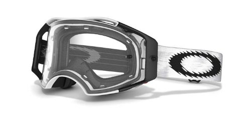 Oakley Airbrake MX Goggles (Matte White Speed Frame/Clear Lens)