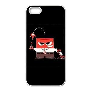 iPhone 5 5s Cell Phone Case White EXPLOSIVE ANGER SLI_579128