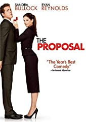 Sandra Bullock is at her funniest in the fresh, laugh-out-loud romantic comedy THE PROPOSAL. On the verge of being deported and losing the high-powered job she lives for, the controlling Margaret announces she's engaged to her unsuspecting, p...