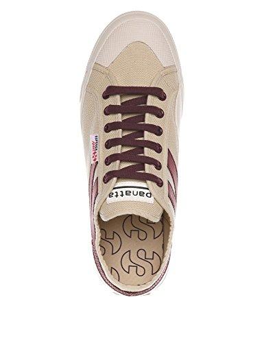 Superga dk Cotu Bordeaux Men's Panatta Ecru Sneaker rf70WrwSq