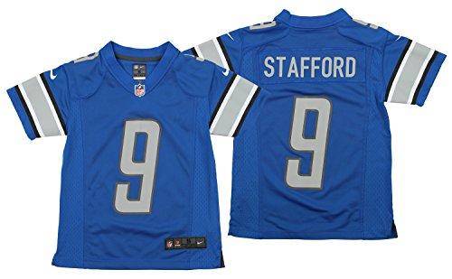 NIKE NFL Youth Detroit Lions Matthew Stafford #9 Jersey, Blue Medium(10-12) ()