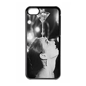 DDOUGS I Audrey Hepburn Customised Cell Phone Case for Iphone 5C, Wholesale I Audrey Hepburn Case