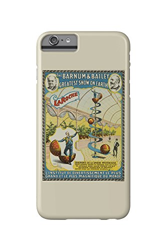 Barnum and Bailey - La Roche Vintage Poster USA c. 1896 (iPhone 6 Plus Cell Phone Case, Slim Barely - Usa Roca