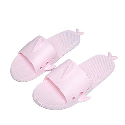 Anti Pantoufles Fascigirl Sandales Forme Pantoufles Light en Maison L DéRapantes éTé de Pink D Requin aq1BYp