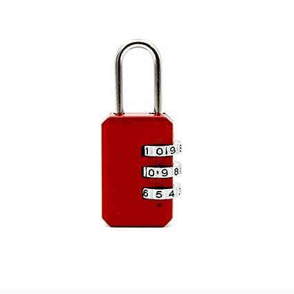 371e8951c6f9 Amazon.com: MarshLing Combination Lock-3 Digit Dial Combination Code ...
