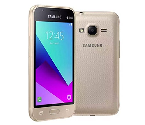 BRAND NEW SAMSUN GALAXY J1 MINI PRIME SM-J106H/DS GOLD 8GB DUAL SIM UNLOCK 2016 MODEL (GOLD) (Samsung Phone Cell Unlock)