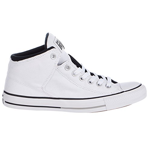 Converse Chuck Taylor All Star High Street Hi Fashion Sneaker Shoe - White/Black/White - Mens - 11