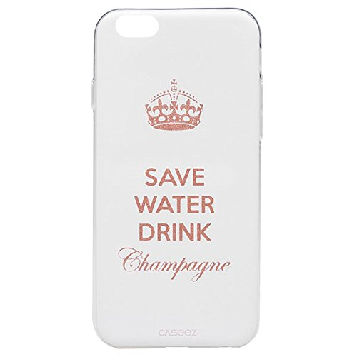 "caseez ""champagne-gold"" Back Cover für Apple iPhone 6/6S"