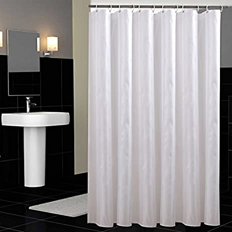 Sfoothome 36 Inch Wide X 72 Long Hotel Fabric Shower Curtain Waterproof And Mildew Free