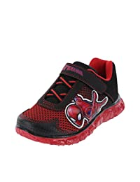 Marvel Entertainment LLC Spider-Man Boys Toddler Spider Man Running Shoes - Trendy, Stylish & Easy to Match (Toddler Sizes)
