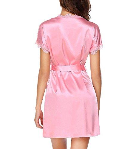 donna Vestaglia Adome Adome Pink Vestaglia donna zfqPw4avx