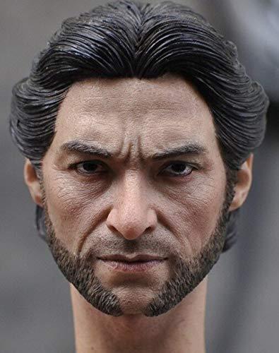 VIET FG Collectable 1/6 Scale Sculpt Wolverine W/ Neck Old/Young Style Hugh Jackman for Logan X-Men Action Figure Body Toys -Complete Series Merchandise