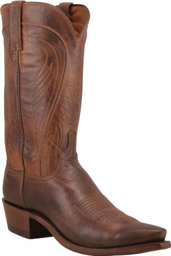 - Lucchese Since 1883 Men's N1596-74,Tan Burnished Ranch Hand,US 9 D