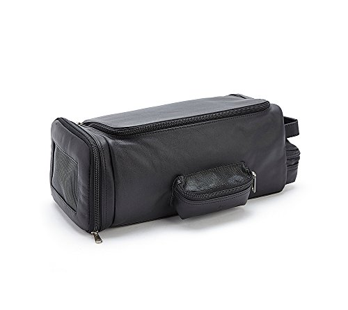 Royce Leather Luxury Travel Golf Shoe Bag Black by Royce Leather (Image #3)