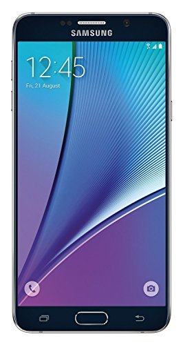 Samsung Galaxy Note5 N920V 32GB Verizon CDMA No-Contract Smartphone - Black Sapphire (Renewed) ()