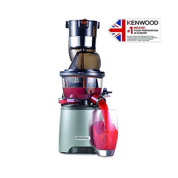 Kenwood PureJuice Pro JMP800SI Estrattore, Acciaio inossidabile, Argento - 2020 -