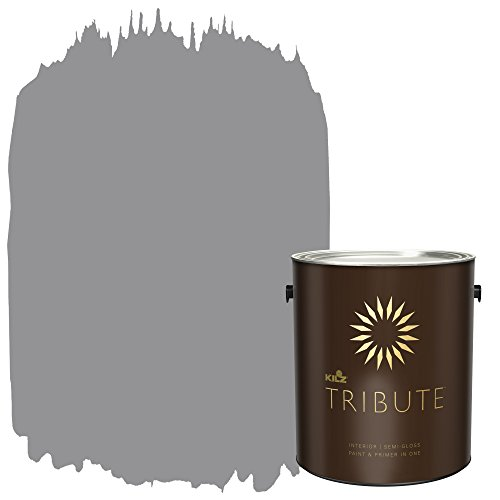 KILZ TRIBUTE Interior Semi-Gloss Paint and Primer in One, 1 Gallon, Nomad's Trail (TB-35) ()