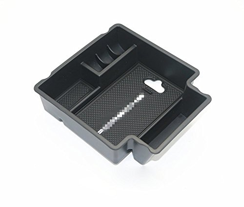 Salusy Central Console Armrest Storage Box Glove Secondary Tray For Porsche Macan 2017 (Porsche Box)