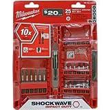 Milwaukee 25 Piece Shockwave Heavy Duty Impact