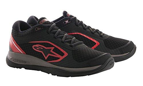Alpinestars, scarpe da uomo in lega Black/Red