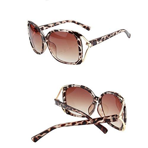 ZHIRONG Gafas Gafas polarizada A Driving grande Sra sol Protección Color Glasses de marco Travel de solar B moda de rpwdrP7q