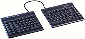 "Kinesis Freestyle2 Blue Wireless Ergonomic Keyboard for PC (9"" Separation)"