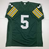 Autographed/Signed Paul Hornung Green Bay Green