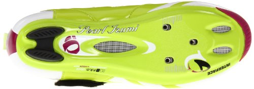Pearl iZUMi Damen Tri Fly IV Carbon Radschuh Kalk / Orchidee