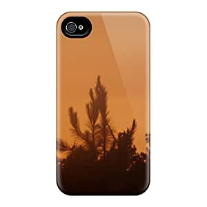 Rugged Skin Cases Covers For Iphone 6- Eco-friendly Packaging(crimson Sky)
