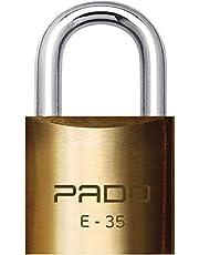 CADEADO SM LT-35MM, Pado, 51000029, Dourado