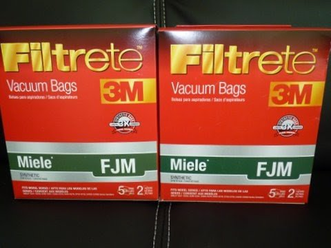 Filtrete FJM Synthetic Bags and Filters, 10 Bags and 4 Filters Per Pack
