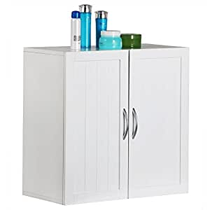 Amazon.com: Topeakmart Kitchen/Bathroom/Laundry Wall Mount ...