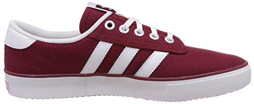 Rouge Burgundy Homme adidas Metallic White Kiel Collegiate Ftwr Tongs Silver RwqnCaO