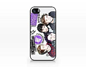 Music Band - Hard Plastic Case for Iphone 5/5s by lolosakes