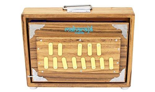 MAHARAJA Shruti Box, Teak Wood, 13 Drones, Great