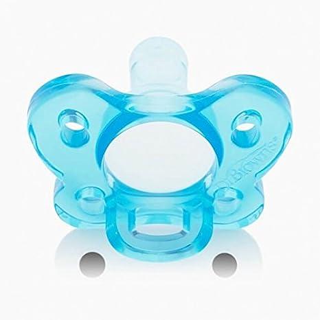 Dr Browns Chupete de Silicona - para recién nacidos - azul ...