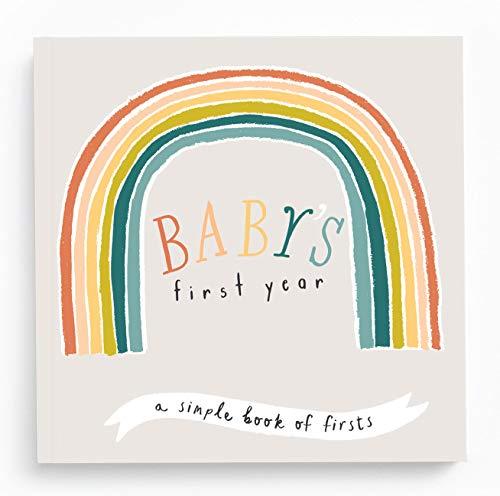 (Baby Journal - Little Rainbow Memory Book)