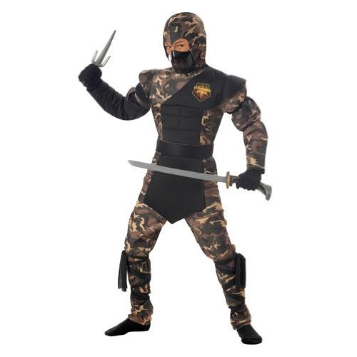 Special Ops Ninja Halloween Costume - Child Size Large