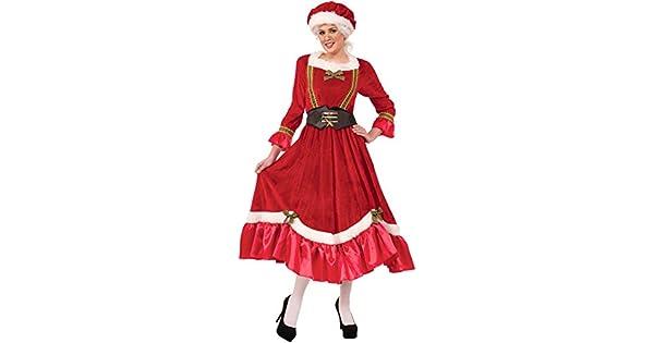 Amazon.com: Forum Novelties Womens Mrs. Santa Claus Costume ...